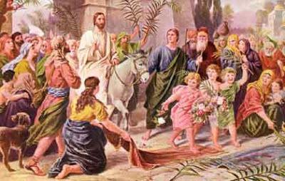 耶稣的最后一周:第一日